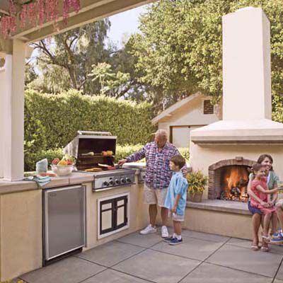 Dollar Smart Plan For An Outdoor Kitchen This Old House