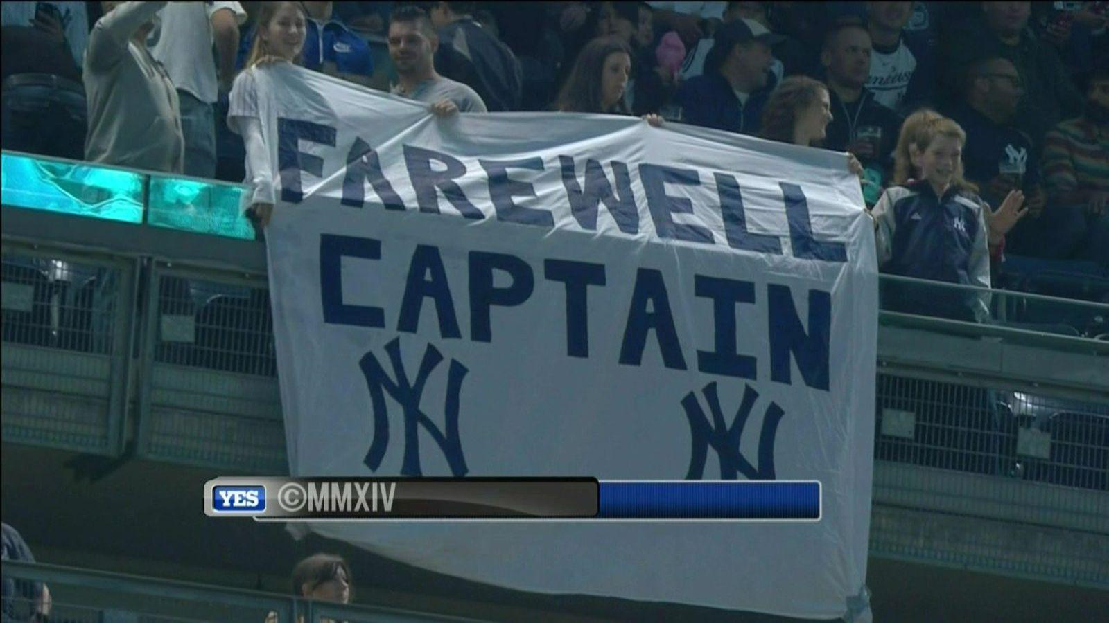 Derek Jeter tributes abound in final Yankee Stadium game - SBNation.com