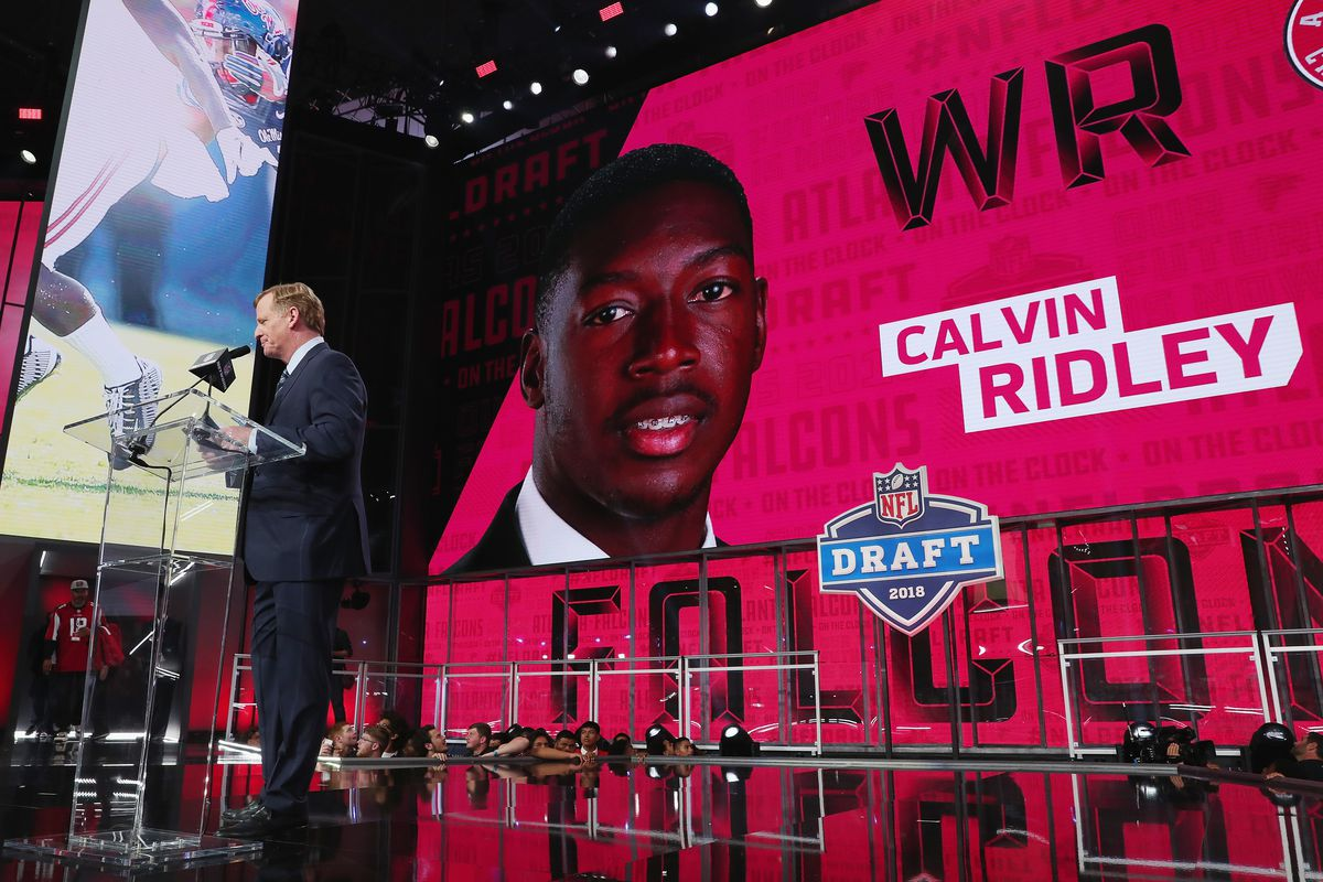 Selecting Calvin Ridley Might Be The Atlanta Falcons New Draft Masterstroke The Falcoholic