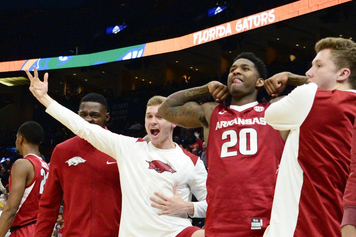 NCAA Basketball: SEC Conference Tournament-Florida vs Arkansas