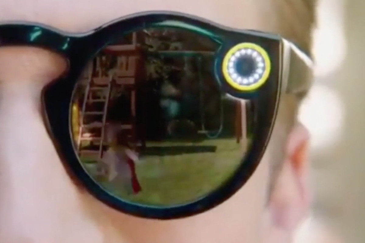 3ab5efb28c1 Snapchat s secret camera sunglasses just showed up in a video - The ...