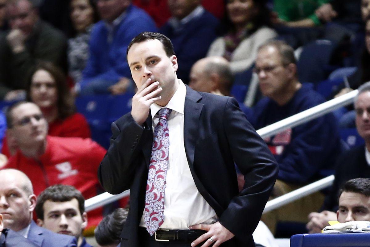 NCAA Basketball: Dayton at Rhode Island