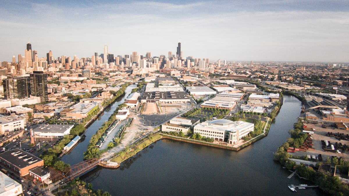 Remaking Goose Island One Of Chicago S Great Industrial