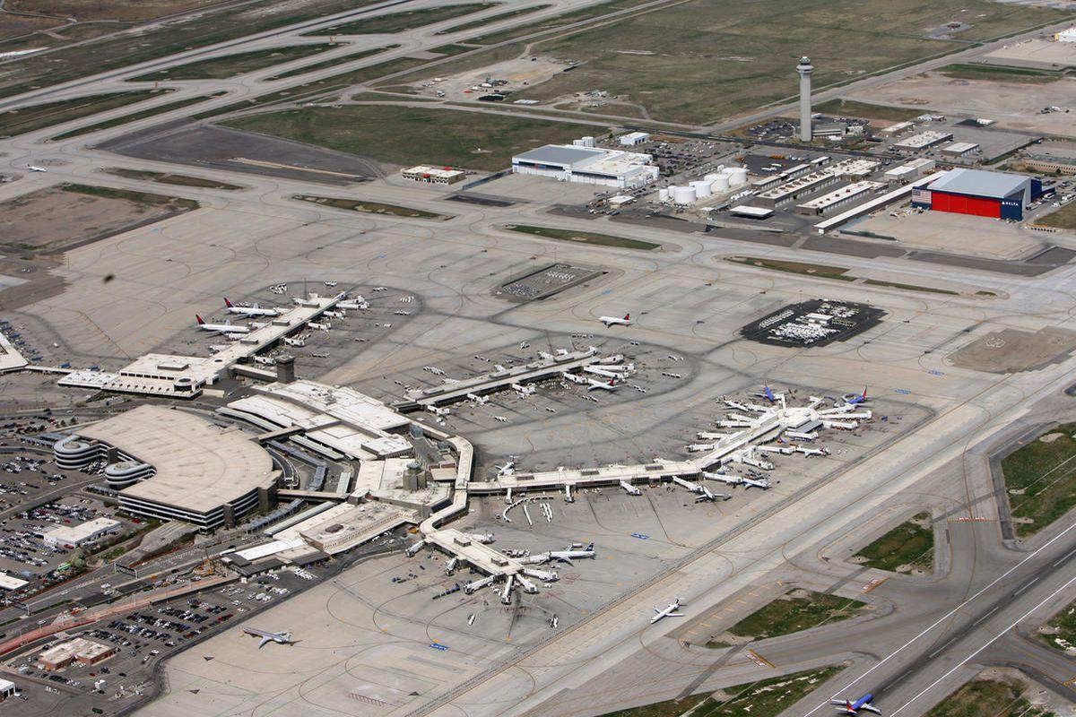 Salt Lake City International airport Thursday, April 5, 2012.