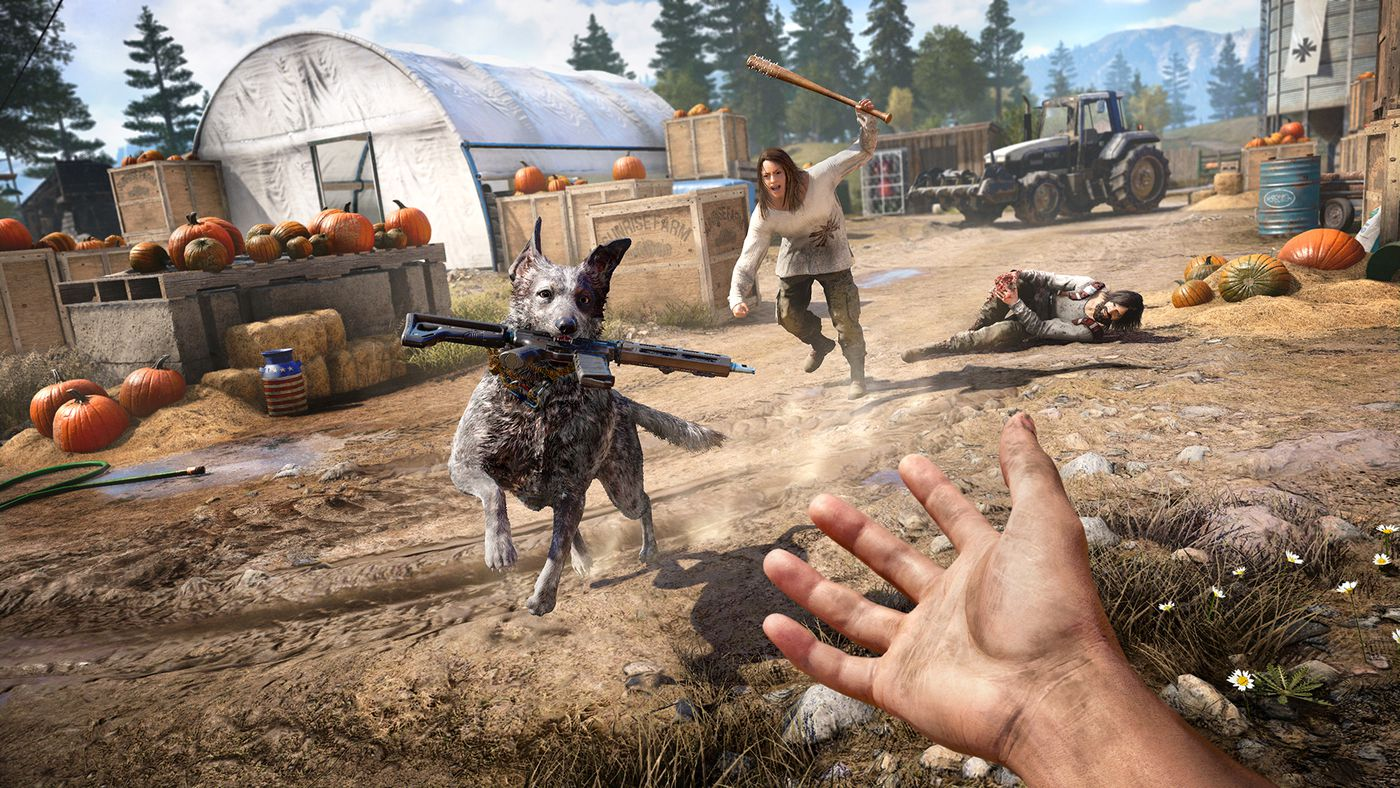 Far Cry 5 Has The Best Video Game Dog The Verge