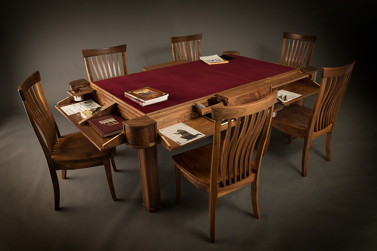 Geek Chic Maker Of Exquisite Gaming Tables Has Gone Out Of