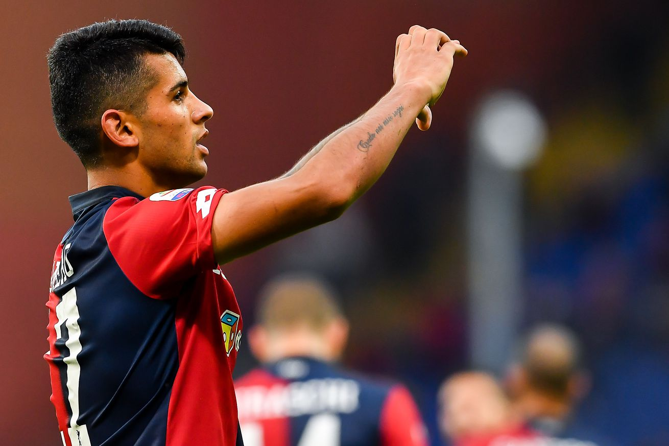 OFFICIALLY OFFICIAL: Juventus sign Cristian Romero, loan him back to Genoa