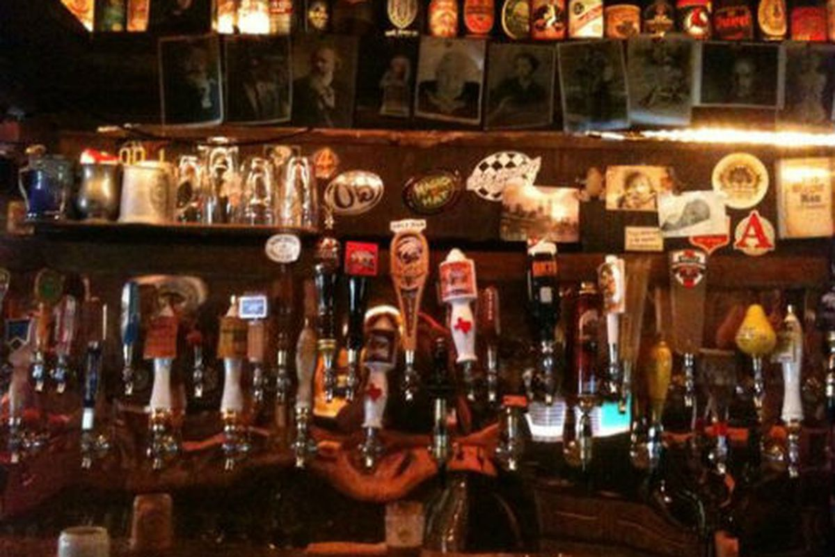 Tap Wall at The Gingerman