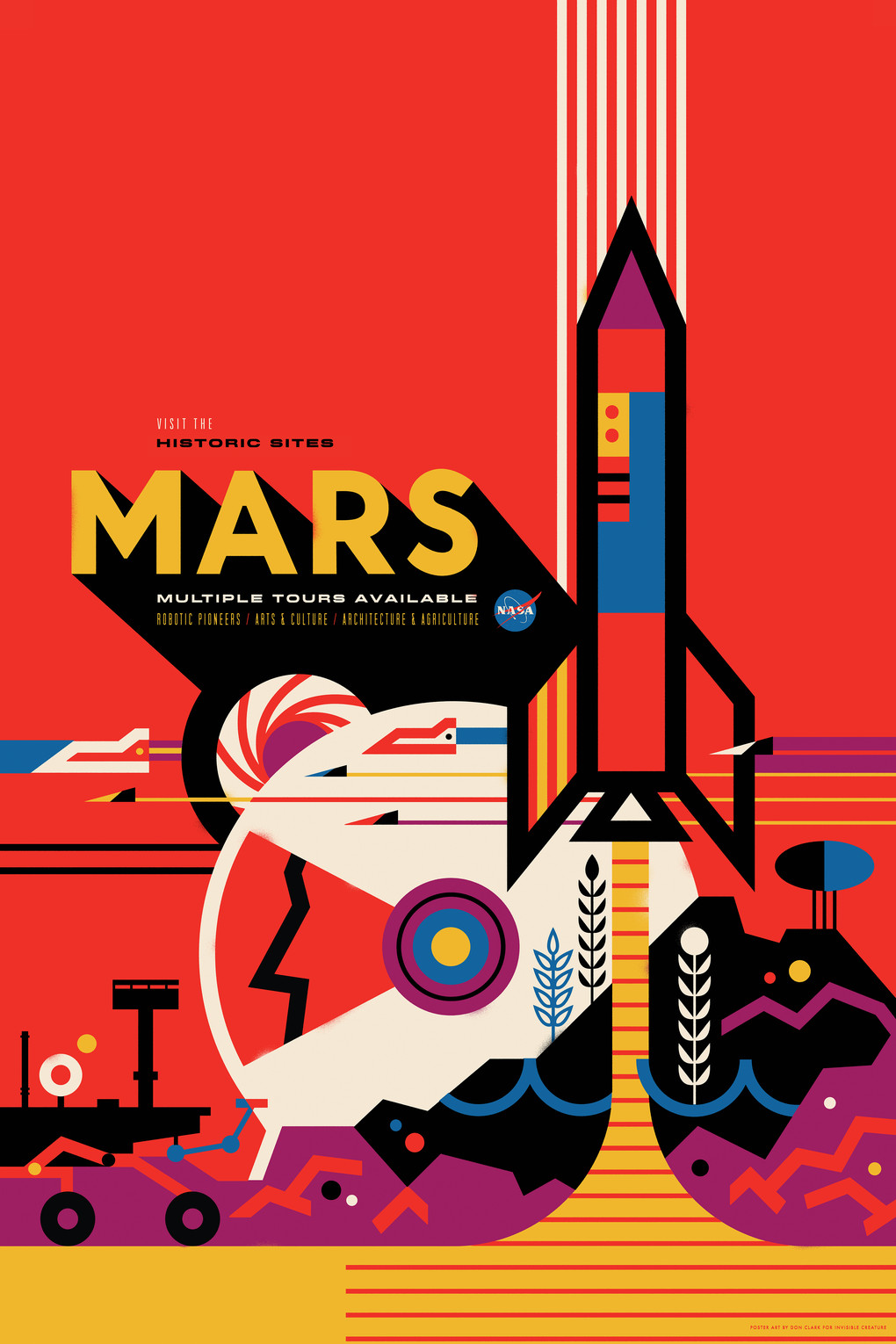 Nasa s new space tourism posters are spellbinding the verge for Buy art posters online