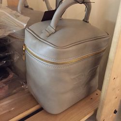 Leather beauty case, $199 (was $295)