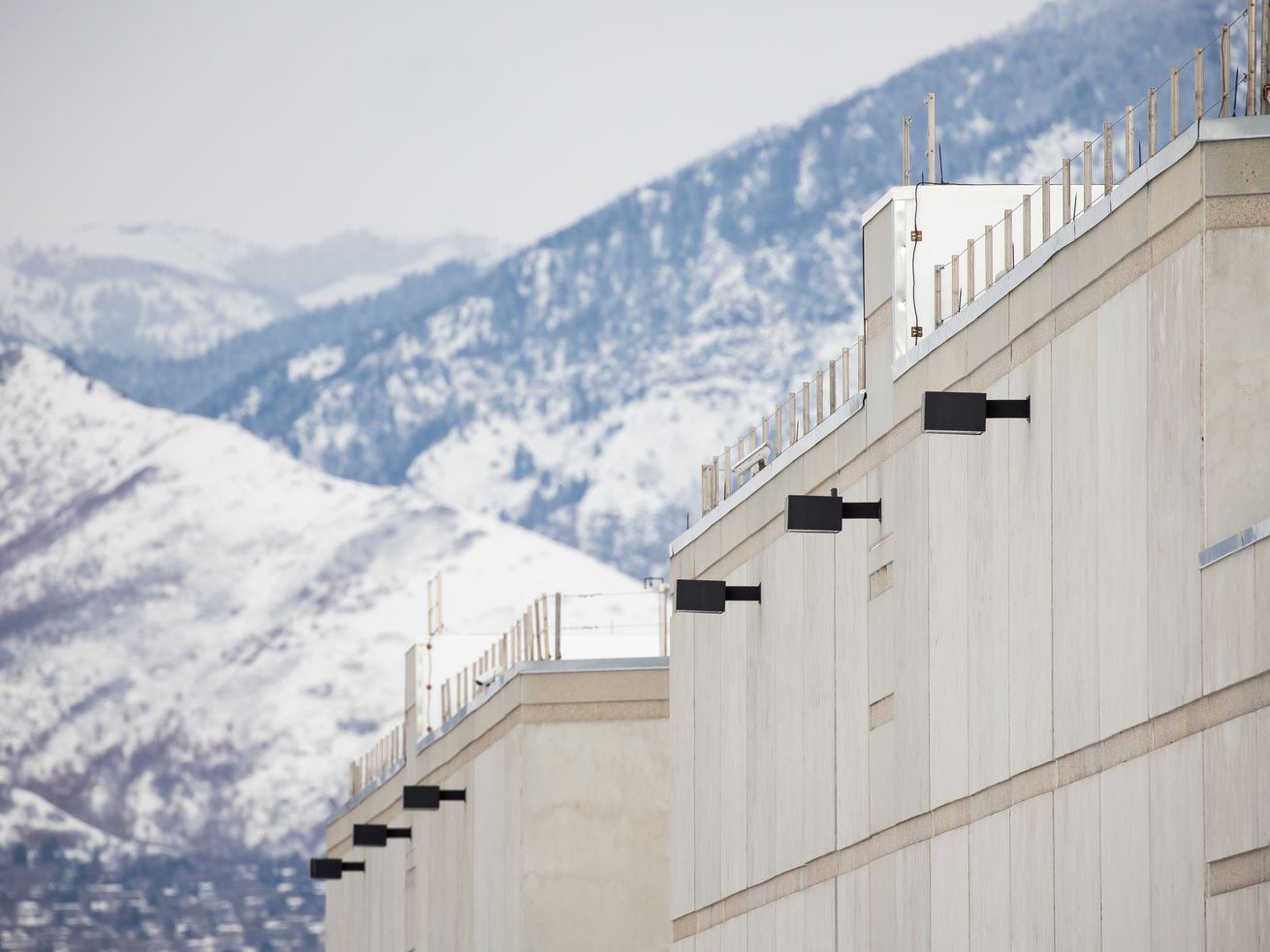 The Salt Lake County Jail in South Salt Lake is pictured on Friday, Feb. 19, 2021.