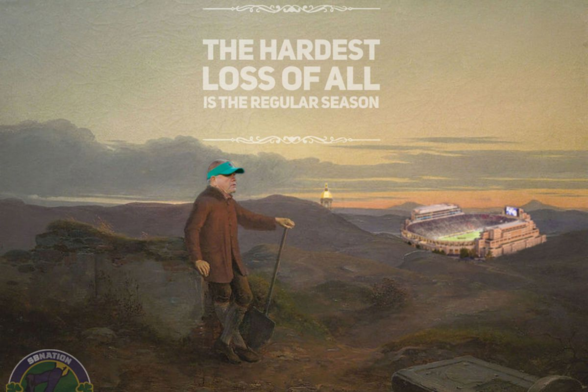 Notre Dame Football: The hardest loss of all, is the season.