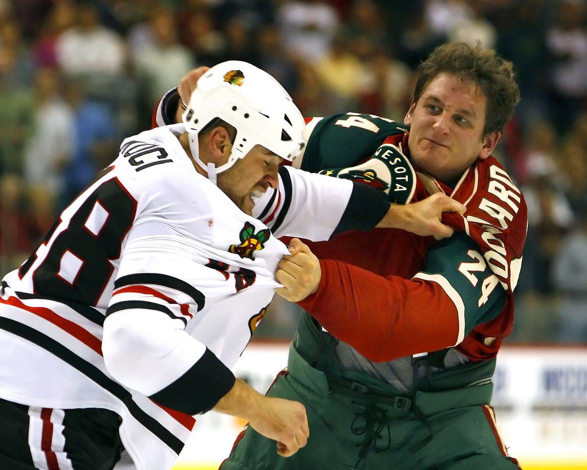 Chicago Blackhawks v Minnesota Wild