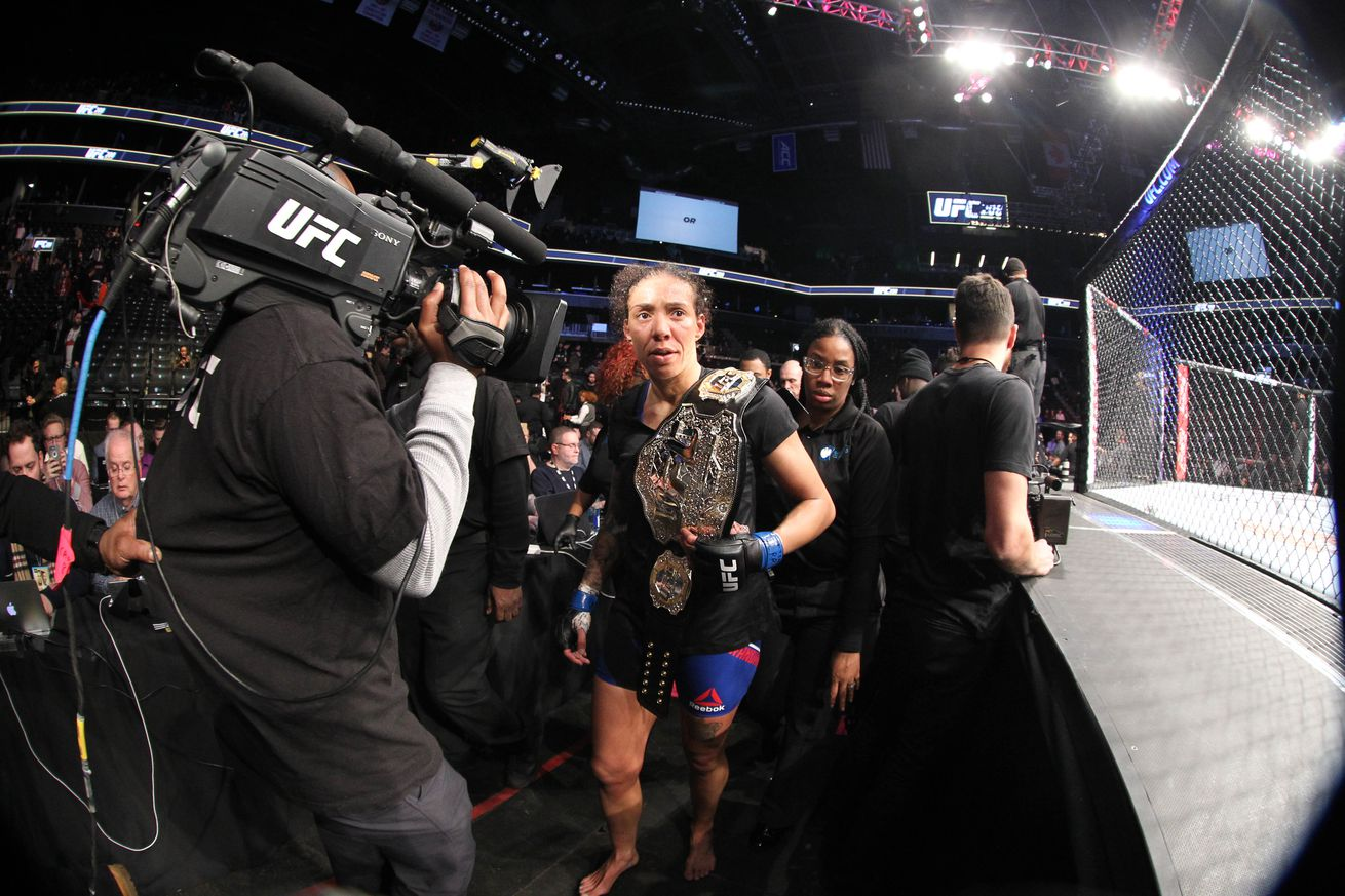 Blindsided Germaine de Randamie found out she was stripped of UFC featherweight title on social media
