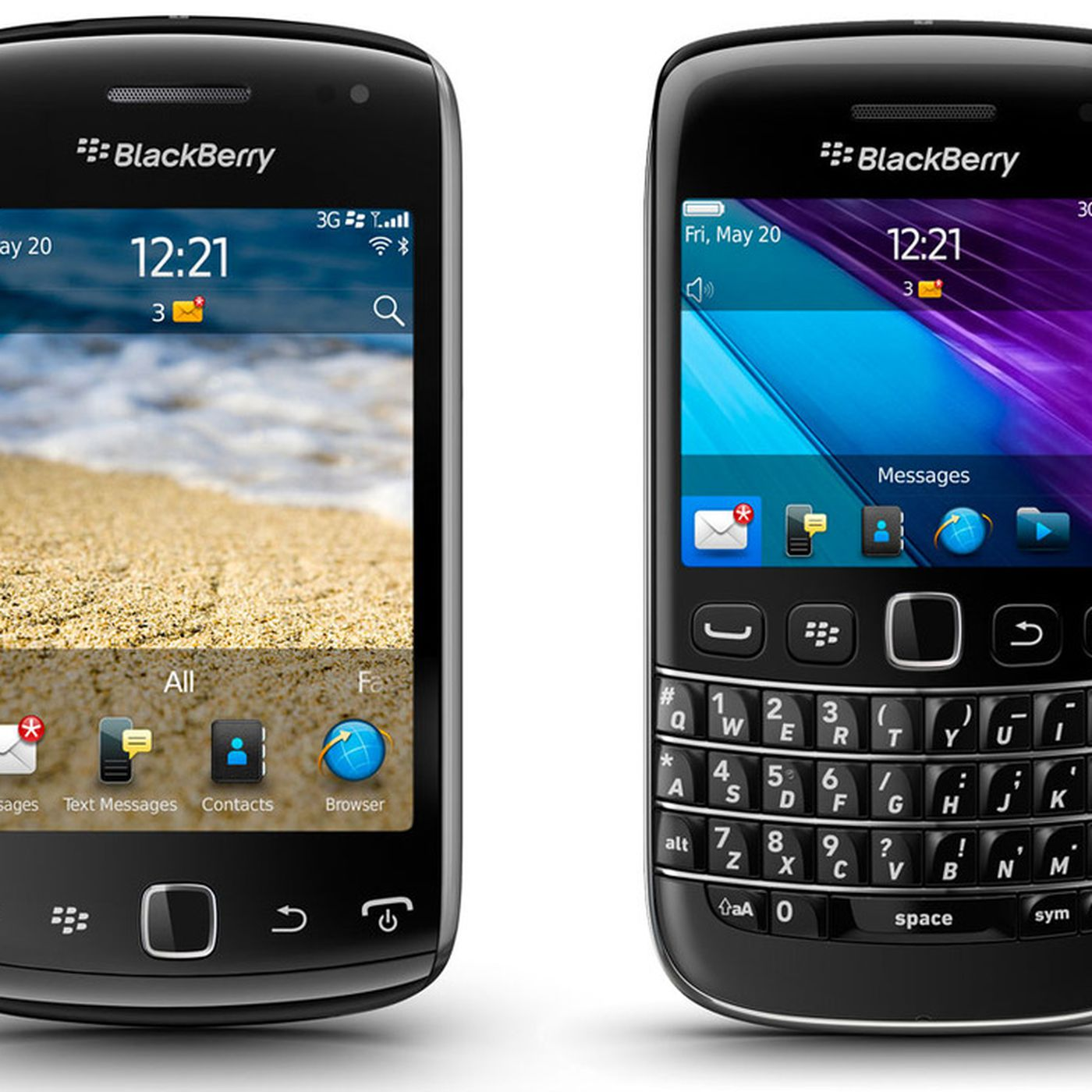 BlackBerry Bold 9790 and Curve 9380 announced with BB OS 7