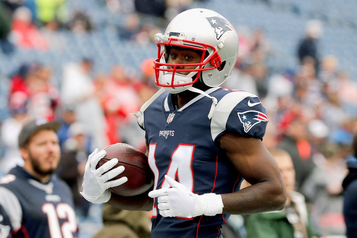 40 and up Patriots wideout Brandin Cooks takes NFL lead Pats Pulpit