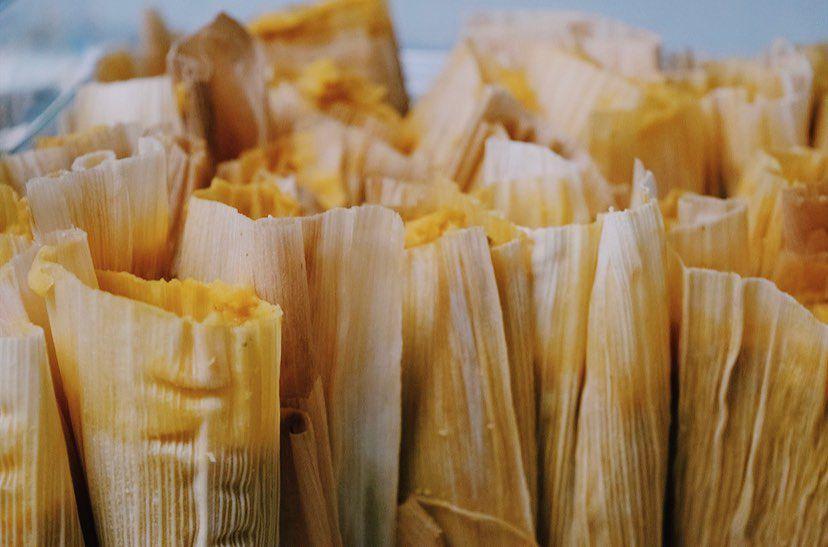 Tamales from La Condesa