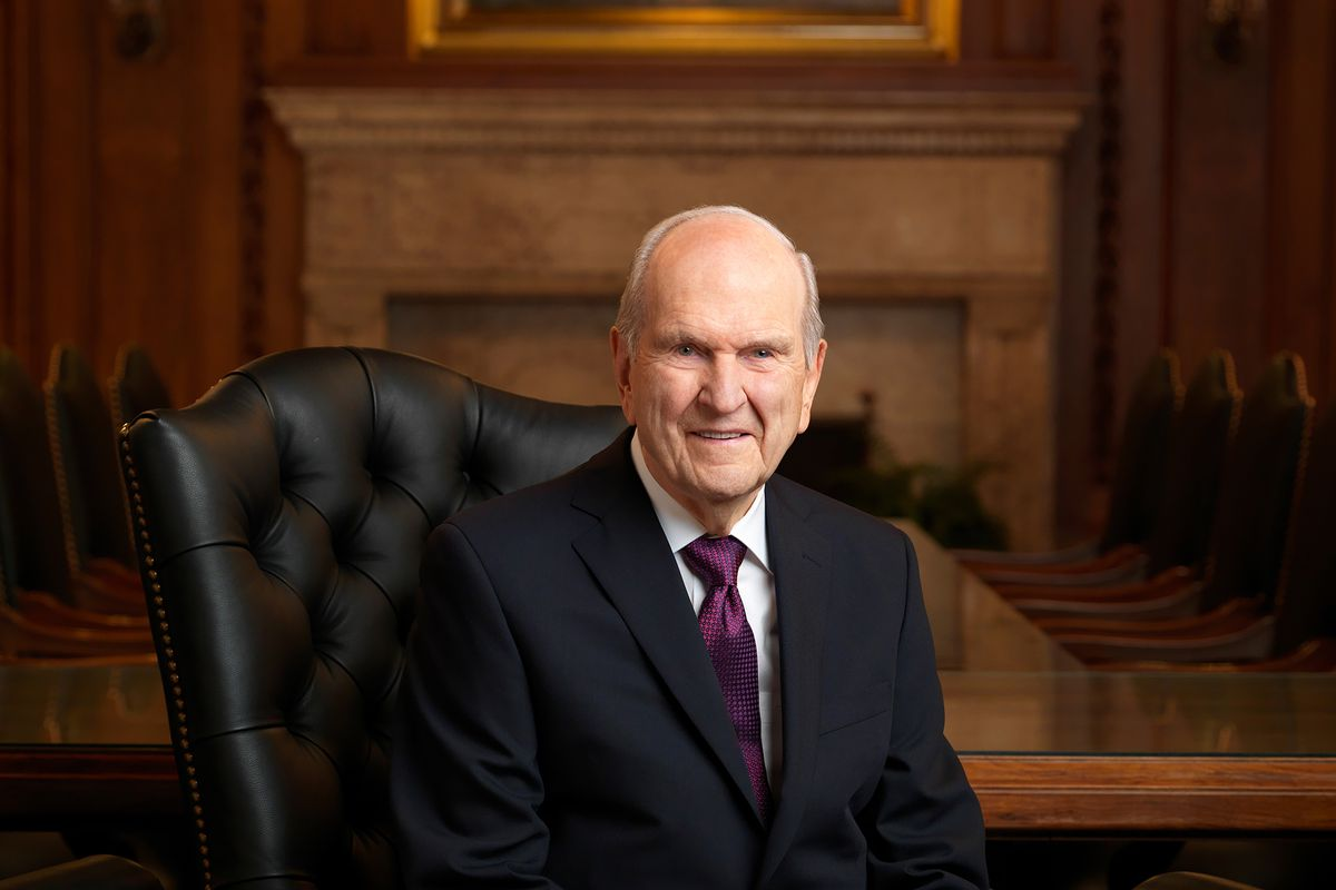 President Russell M. Nelson, since January the 17th president of The Church of Jesus Christ of Latter-day Saints, is circling the globe on a tour of the church in eight countries over 11 days.