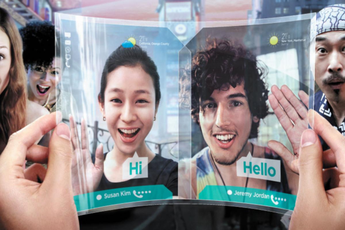 Samsung Flexible display ad