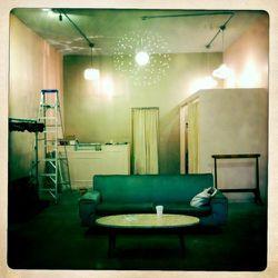 "Unfinished interior. All photos via <a href=""http://shopmyrtle.tumblr.com/"" rel=""nofollow"">Shop Myrtle</a>"