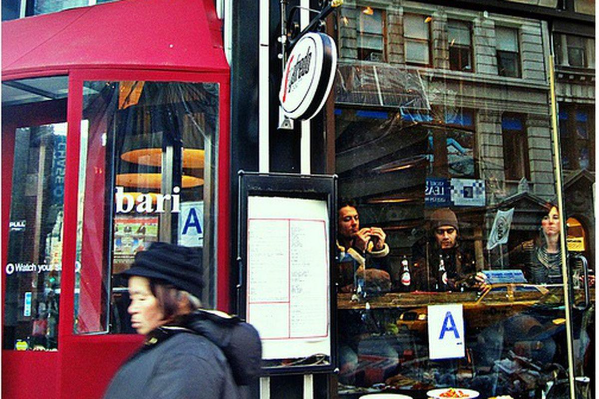 The A-Rated Cafe Bari, Soho