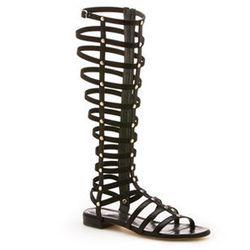 "<strong>Stuart Weitzman</strong> Gladiator Sandals, <a href=""http://www.stuartweitzman.com/products/gladiator/"">$398</a>"