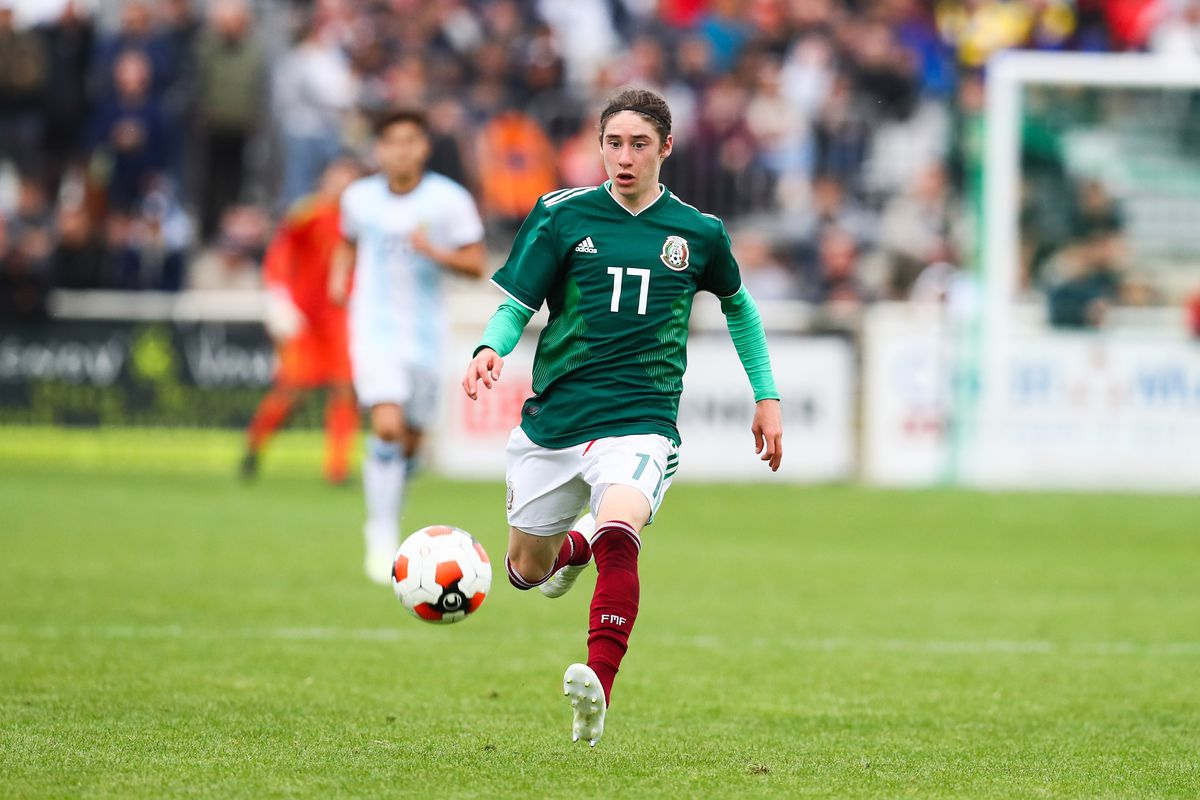 Argentina v Mexico - Montaigu Tournament