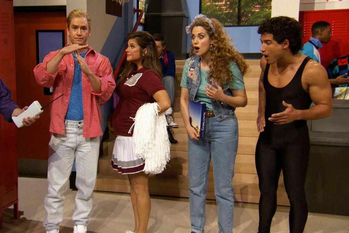 """The """"Saved By The Bell"""" reunion on """"The Tonight Show."""""""