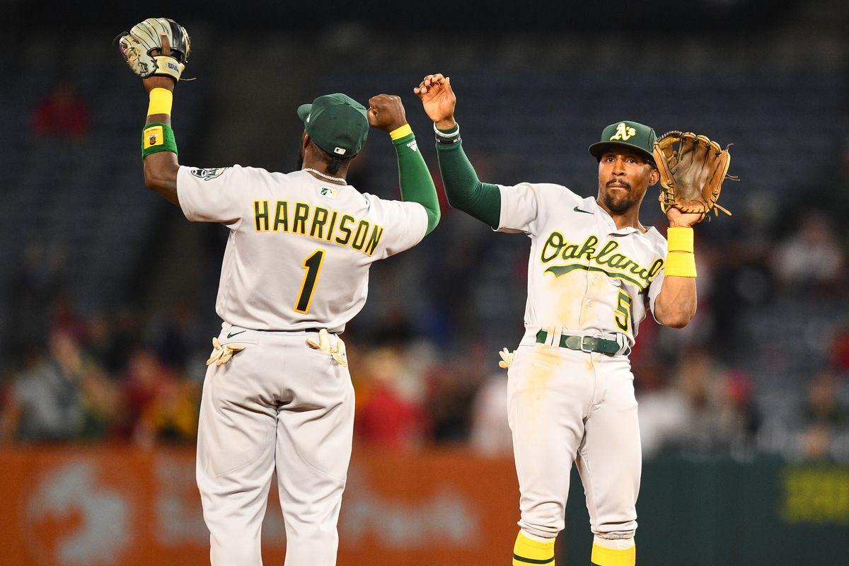 MLB: SEP 17 Athletics at Angels
