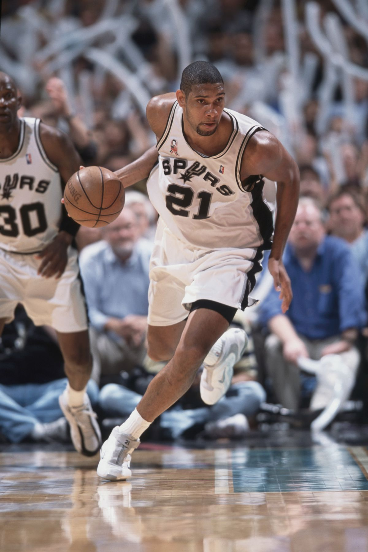 c84ce770ac666 The early years of Tim Duncan ... told through his shoes - Pounding ...
