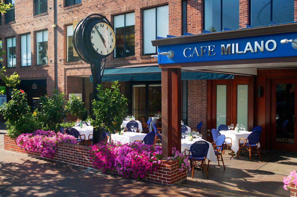 Cafe Milano Porch