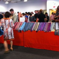 We apologize for the blurriness of some photos, because alas, photos are also not allowed in the sale.