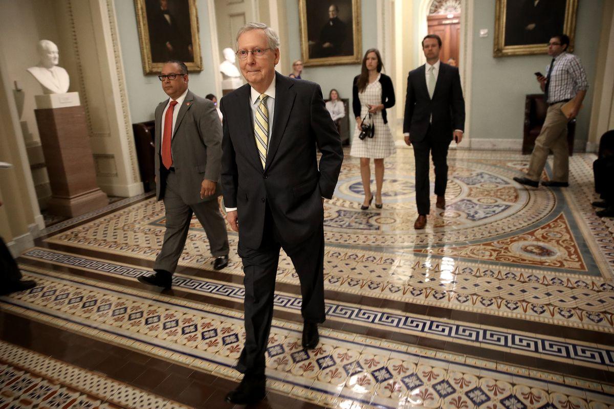 GOP Senators Continue Work On Revised Health Care Bill