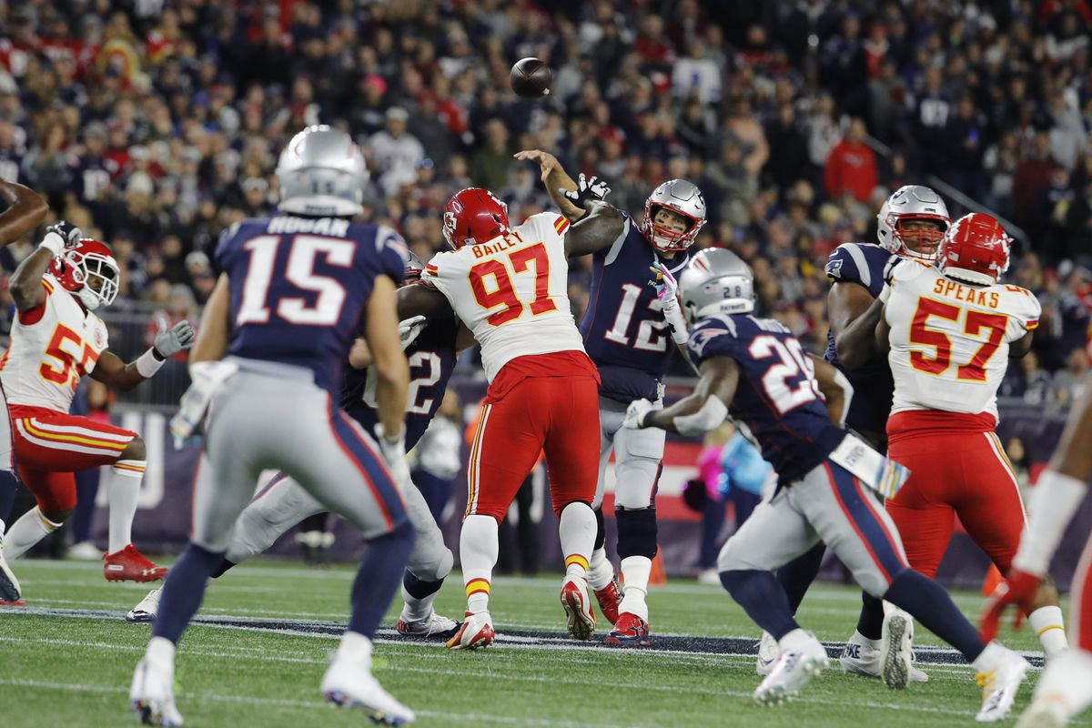 a4b95e74 How Patriots beat Chiefs in the wildest shootout of 2018 NFL season ...