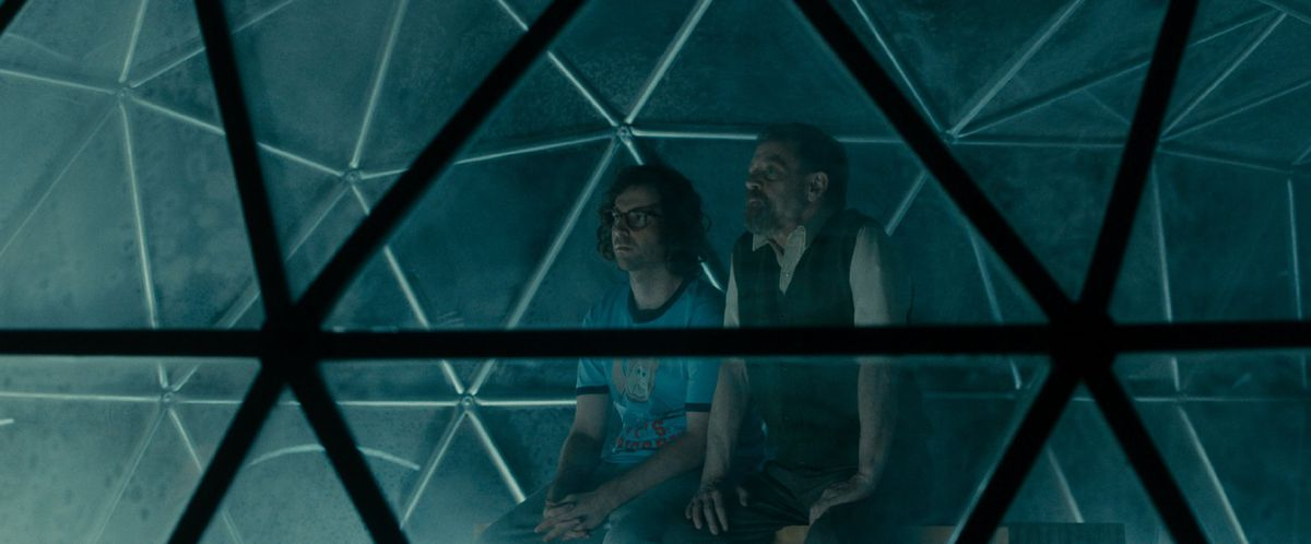 Mark Hamill and Kyle Mooney in Brigsby Bear