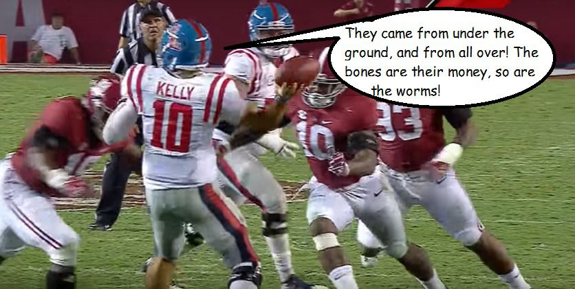 """The Ole Miss Football Experience, as told by 11 """"I Think You"""