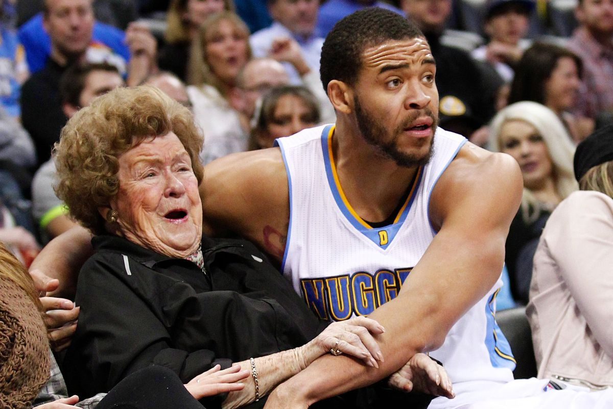 JaVale McGee, making friends