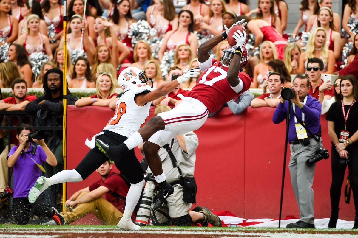 NCAA Football: Mercer at Alabama
