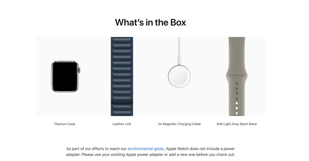 Apple reverses course removes charging brick from Apple Watch Edition and Hermès – The Verge
