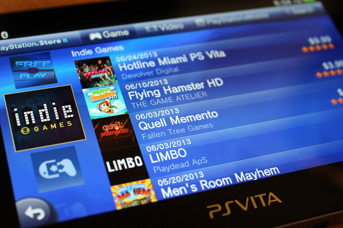 Sony Ps Vita Games : Ps vita indie games channel comes to playstation store