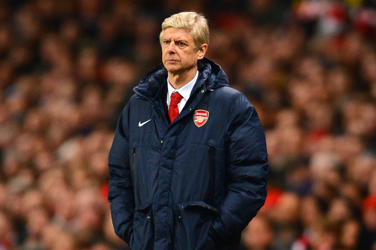 I'd feel more confident in Wenger's words if he knew how to work his coat.