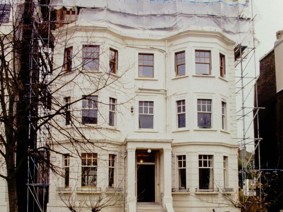 London house exterior shot
