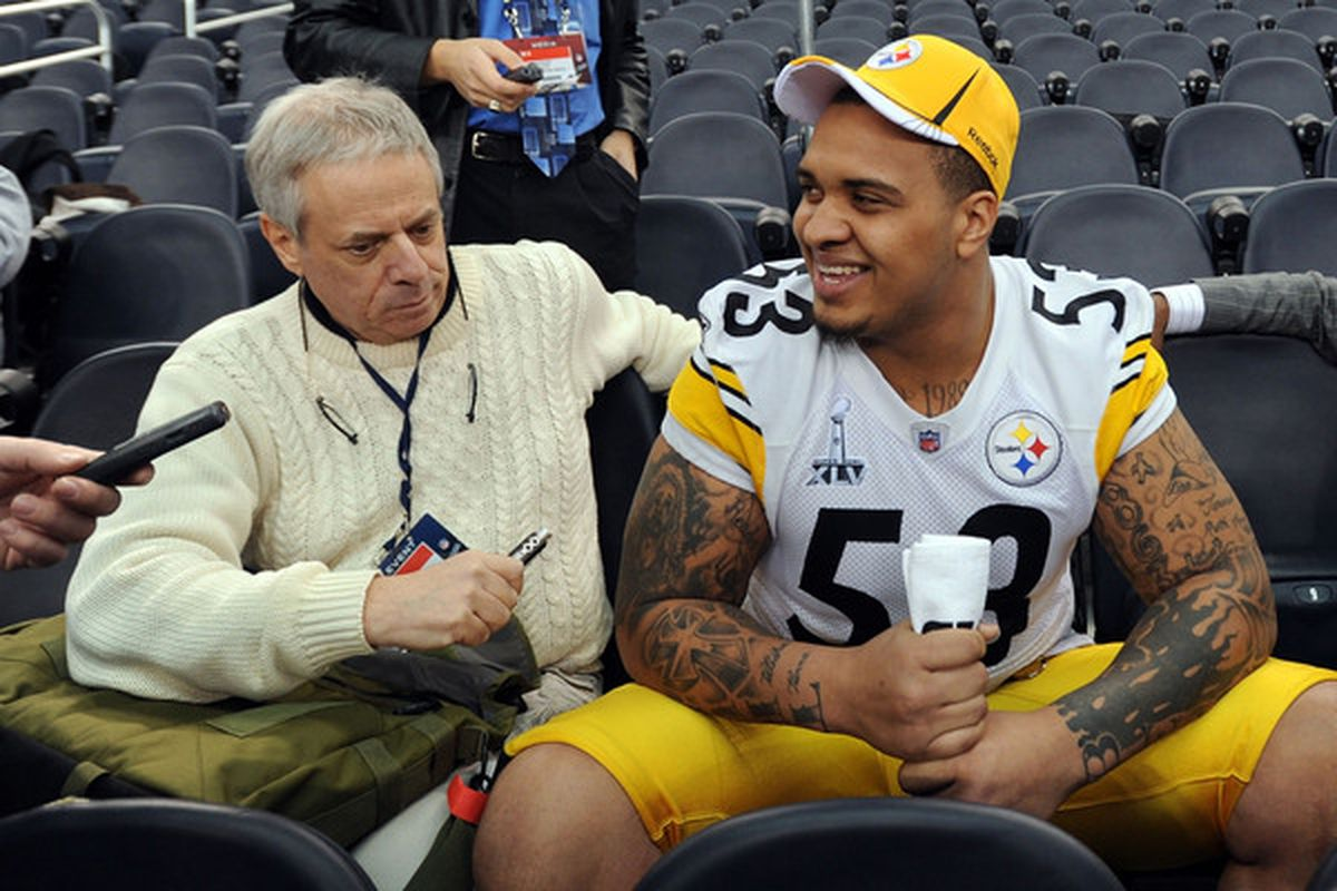 Profile Center Maurkice Pouncey Behind the Steel Curtain