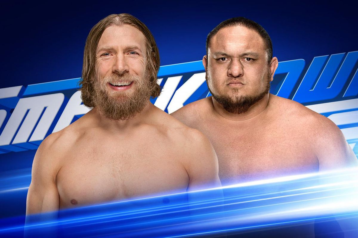 size 40 3d107 6a642 WWE SmackDown Live results (May 29, 2018)  Samoa Joe vs. Daniel Bryan