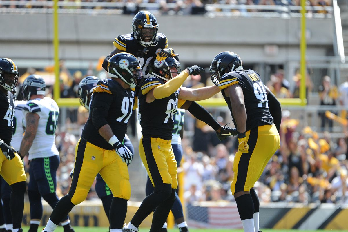 online retailer f0c31 67d13 That moment when the opponent says the Steelers pass rush ...