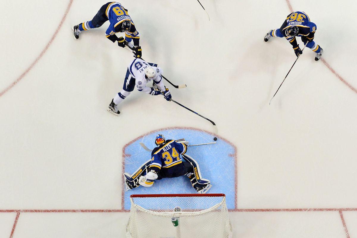NHL: Tampa Bay Lightning at St. Louis Blues