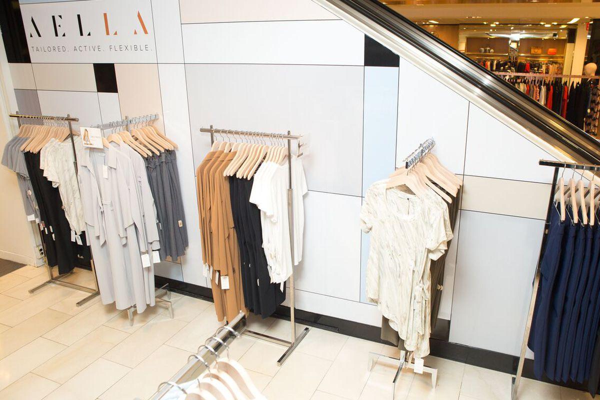 Aella pop-up shop at Bloomingdale's NYC