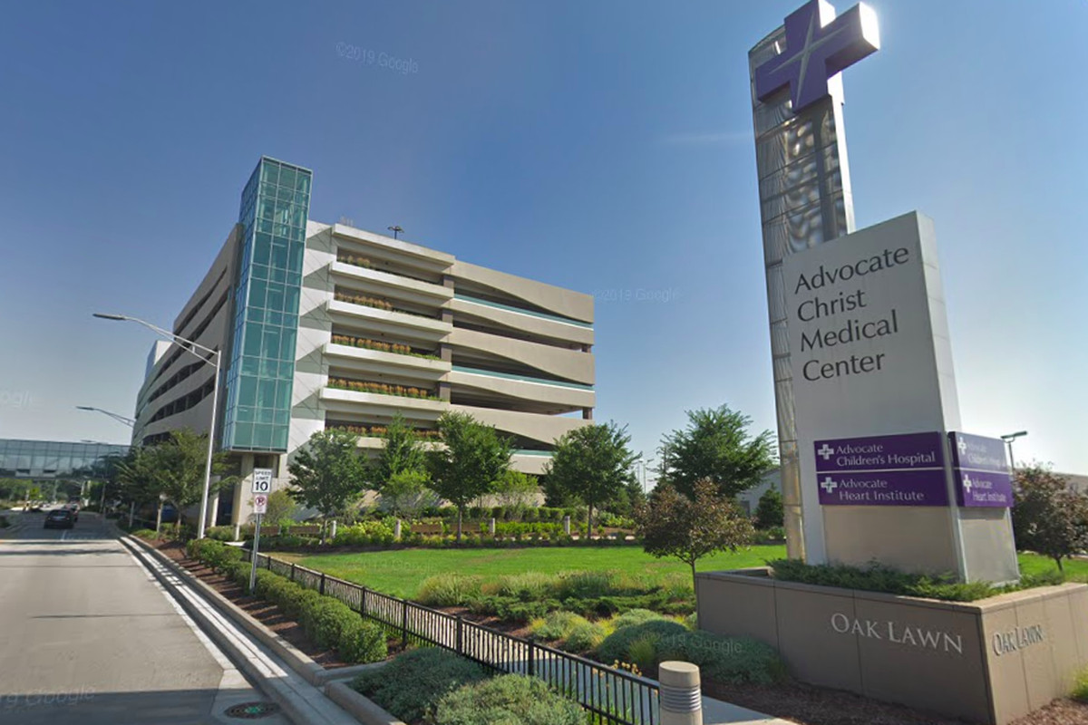 A 69-year-old man died March 23, 2020, at Christ Medical Center in Oak Lawn from the coronavirus.