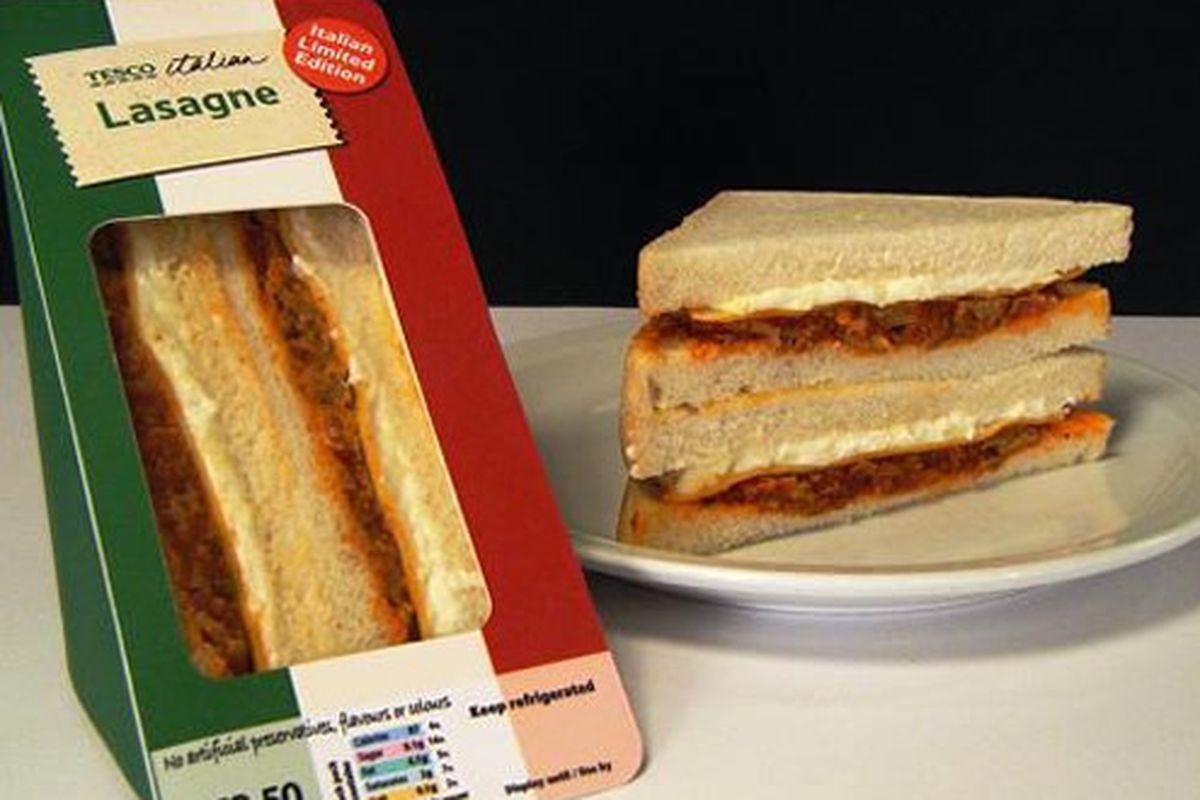 The LAS-andwich.