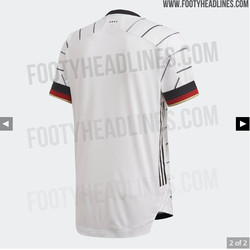 The back of the new kit